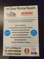 1st Glass Window Repairs